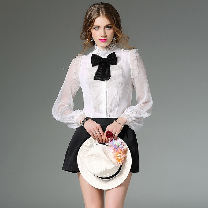 XL-Shirt-New-Fashion-Business-Career-Women-Black-Bow-Tie-Ruffles-Floral-Silk-Chiffon-Long-Sleeve.jpg